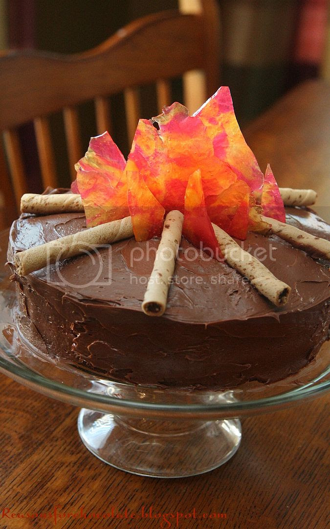 Reasons For Chocolate Campfire Cake
