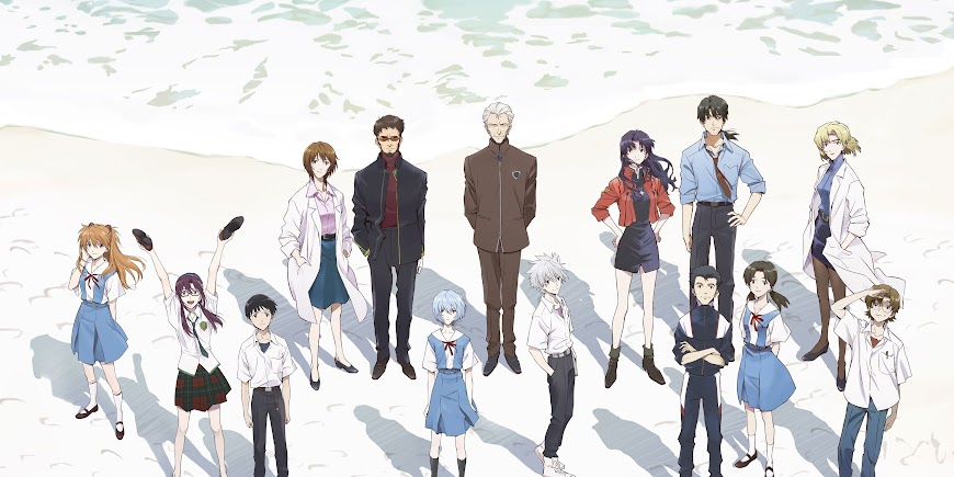 Evangelion: 3.0+1.0 Thrice Upon a Time (2021) Movie Streaming