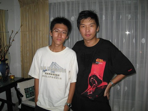 Chin Wei and me