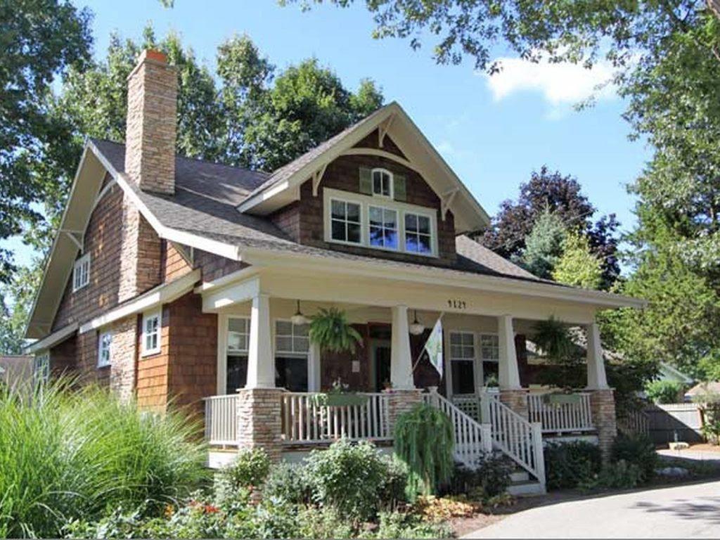 Elegant Modern Craftsman Bungalow  House  Plans  New Home