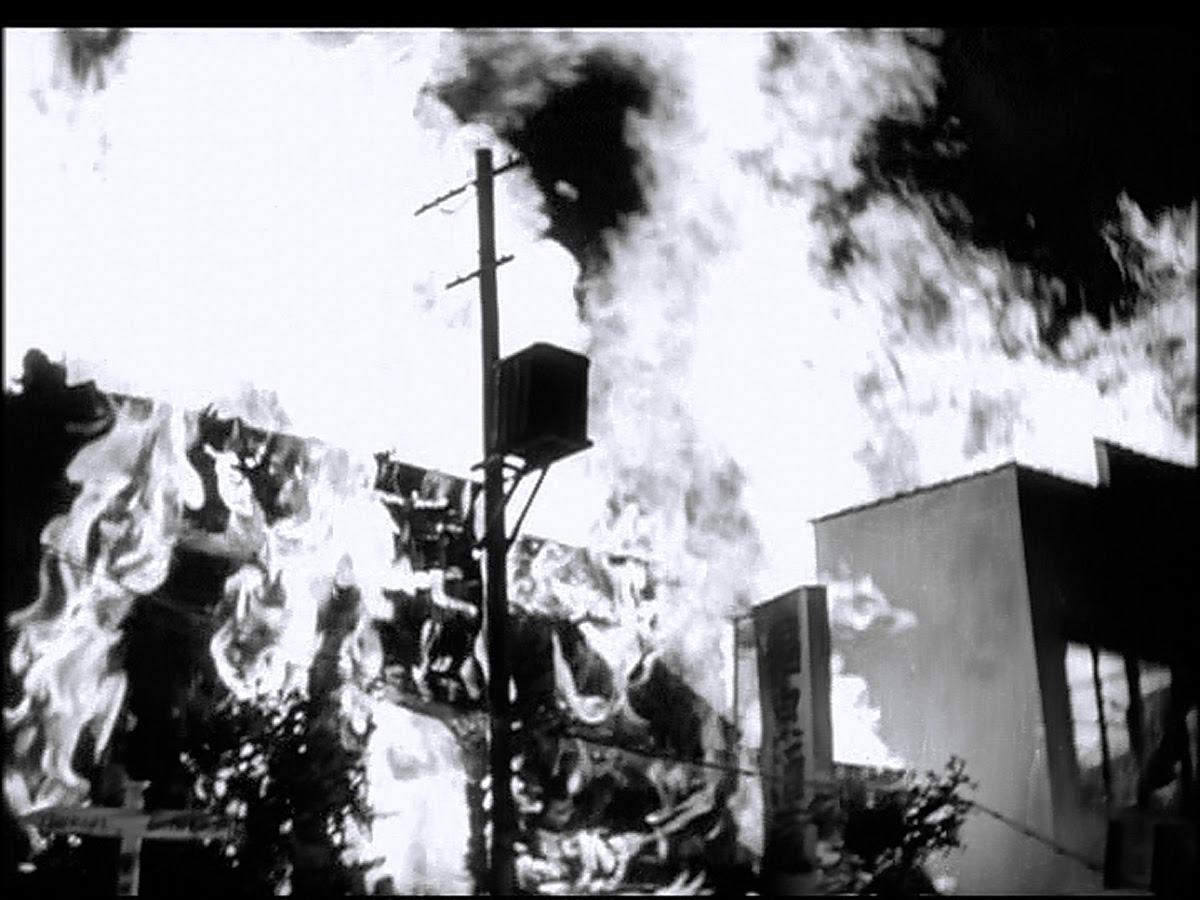 Tokyo burns.