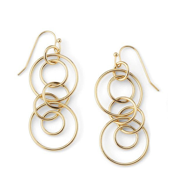Simple, delicate, modern, and classic: Shine On Earrings from lia sophia