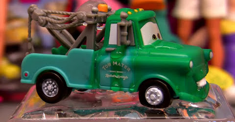 Color changing cars Mater from Disney Pixar Cars 2 Disney Pixar Mattel colour changers shifters