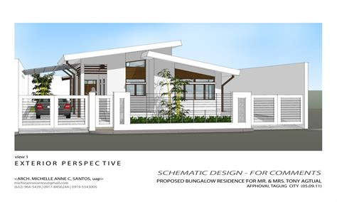 simple house bungalow design philippines design simple