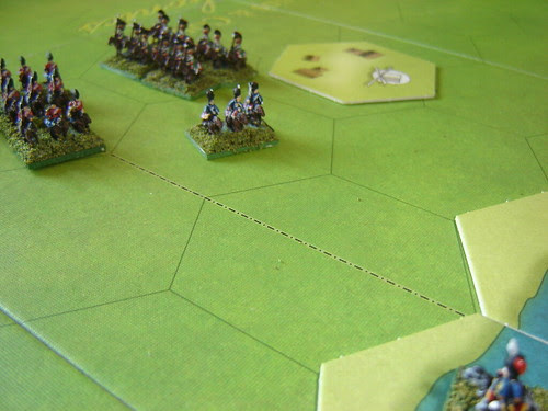 British sweep towards the ford