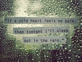 Cold Hearted Quotes Quotes About Cold Hearted Sayings About Cold