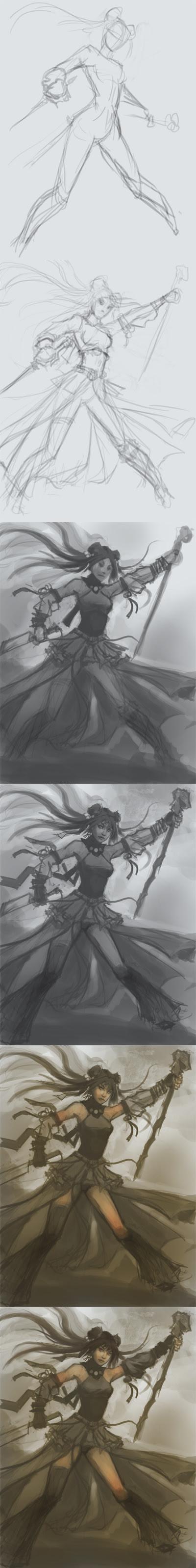 manga tutorial, character design