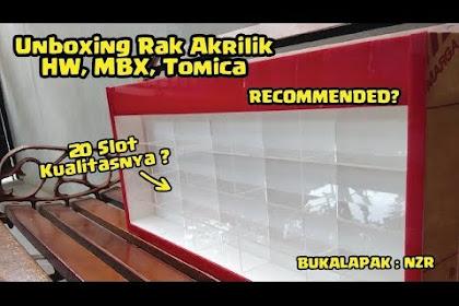 Youtube : Unboxing dan Short Review Rak Akrilik Hot Wheels dari NZR Bukalapak