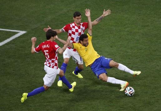 Η `σφαγή` της Κροατίας στο ματς με την Βραζιλία (VIDEO)