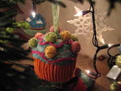 cupcake from Anthropologie