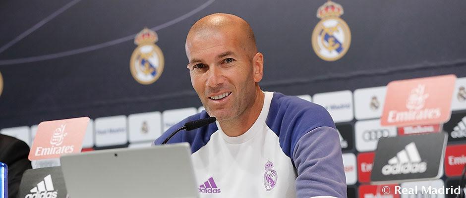 Rueda de prensa de Zidane