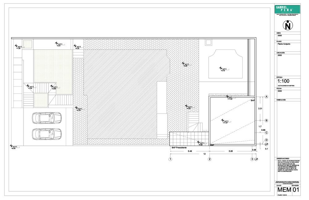 Casa de invitados - Gabriel Peña Arquitectos, Arquitectura, diseño, casas
