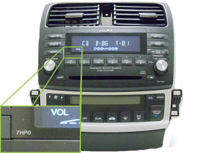 Acura Radio Code On Block Only Acura Tsx Radio 6 Disc Changer Cd Player Mechanism 7hb0