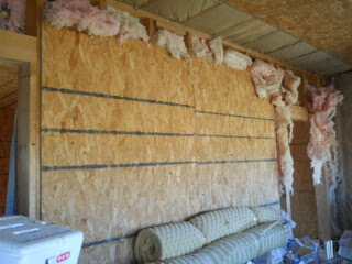 Still More Summer Kitchen Internal Siding