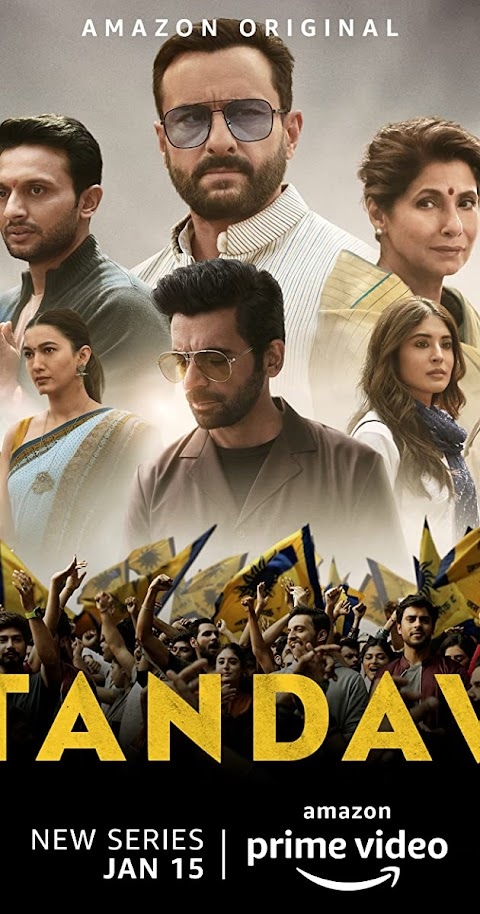 Tandav (2021) Season 01 480p 720p WebRip Hindi | Amazon Prime Series