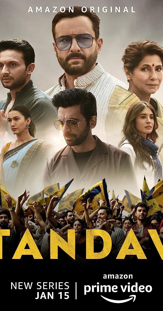 Tandav(2021) Season 01 480p 720p WebRip Hindi   Amazon Prime Series