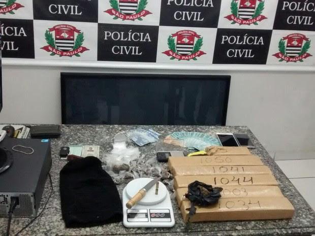 Polícia captura homem acusado de participar de roubo de fuzis em Caçapava (Foto: Divulgação/Polícia Civil)