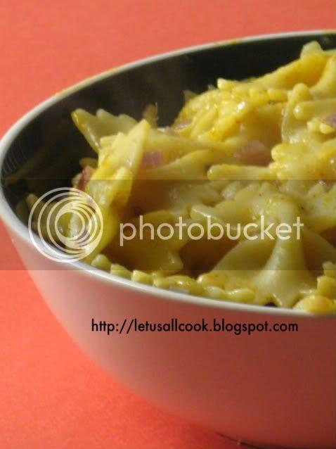 Pasta in Chilli Sauce