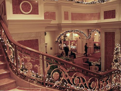 Plaza Hotel Atrium, NYC