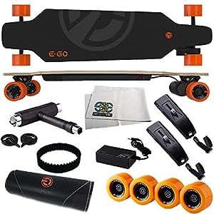 Amazon.com : Yuneec EGO Electric Skateboard   Essential Starter Kit. Inlcudes EGO Wheel Set