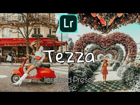How to Edit Like Tezza l Free Tezza Inspired Preset | Free Lightroom