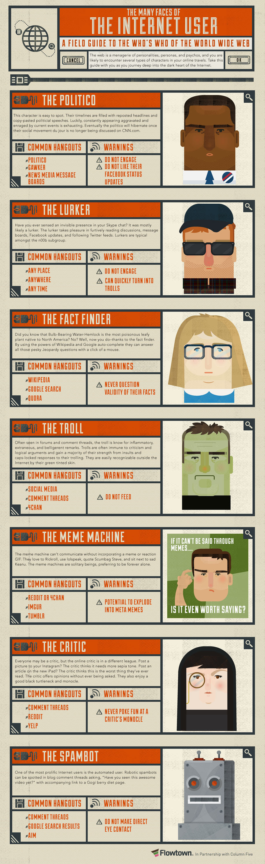 Character Of The People Who Live On Social Media - #infographic