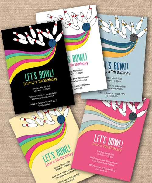 Bowling Party Invitation Design - DIY Printables, Bowling Theme Birthday Party Invitation, Fun Bowling Party Invitation, Bowling Theme Invitation, Whimsical DIY Party Invite, Announcement Card, Personalized Party Invitation, Birthday Invitation Designs, Fabulous Invitation Designs, DIY Party Design Invitations, Personalized Invitations