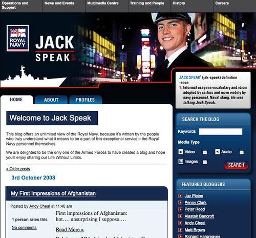 Jack Speak | Royal Navy blog