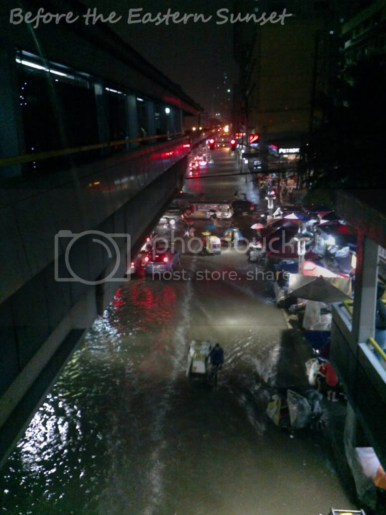 Flooded Taft Avenue