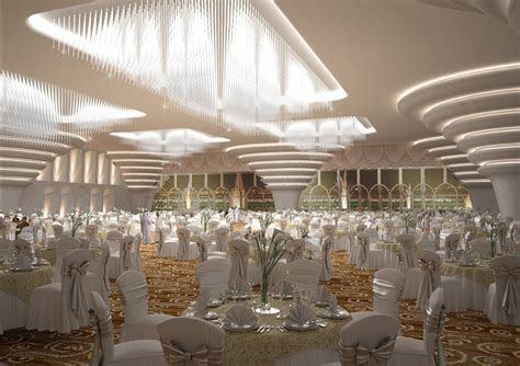 GA architects Abu Dhabi   Private Wedding Hall