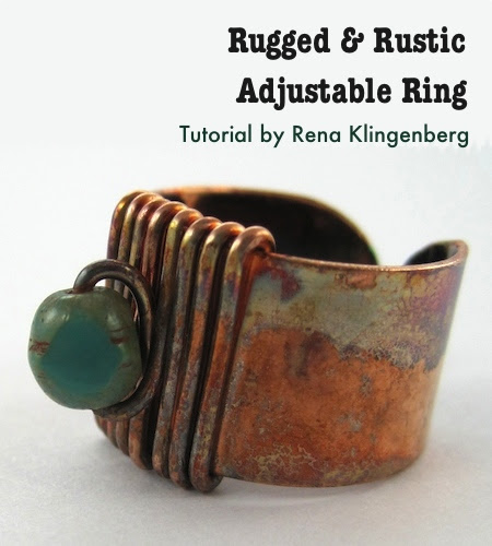 Rugged & Rustic Adjustable Ring (Tutorial)