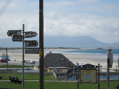 Signpost in Ballyheige