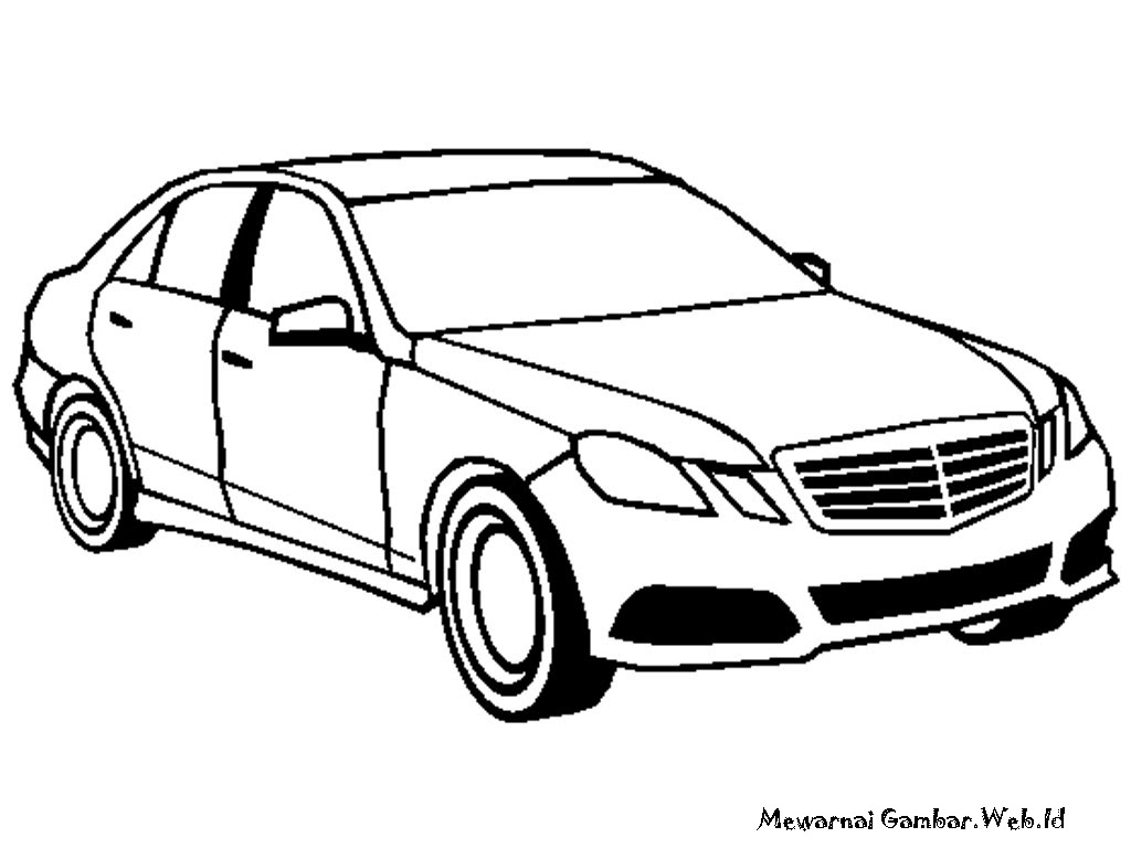 Mewarnai Mobil Keren Auto Electrical Wiring Diagram
