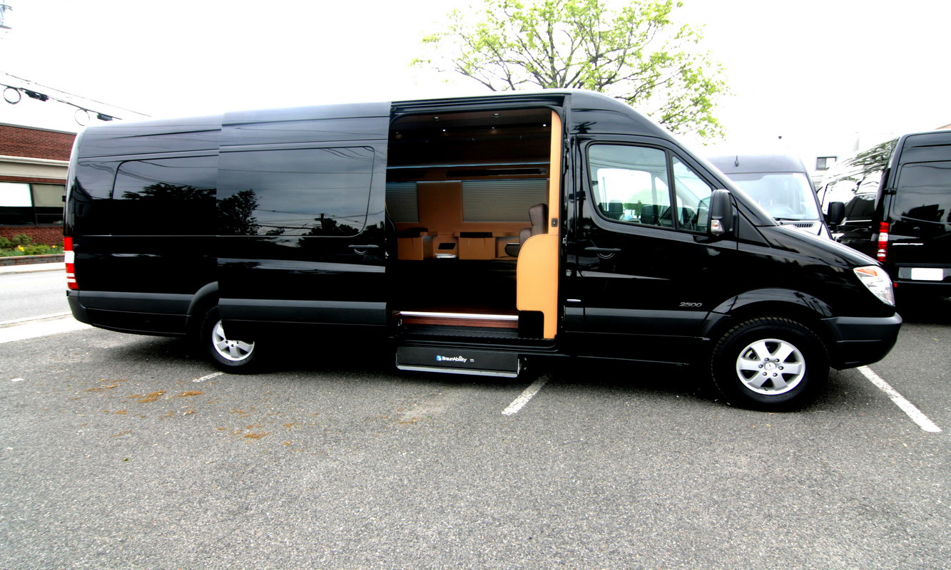 Luxury Wheelchair Accessible Mobility Vans Hq Custom Design