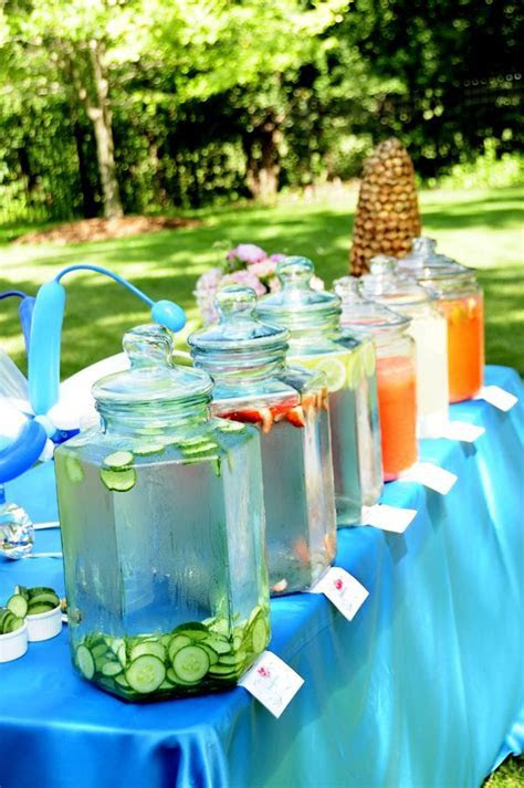 Infused Water Bar? Picnic Perfect! At an event by Blue