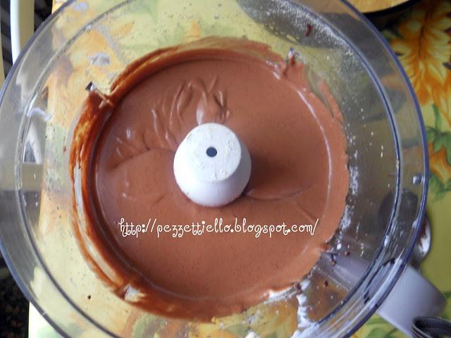 Cheese cake cioccolato per audaci