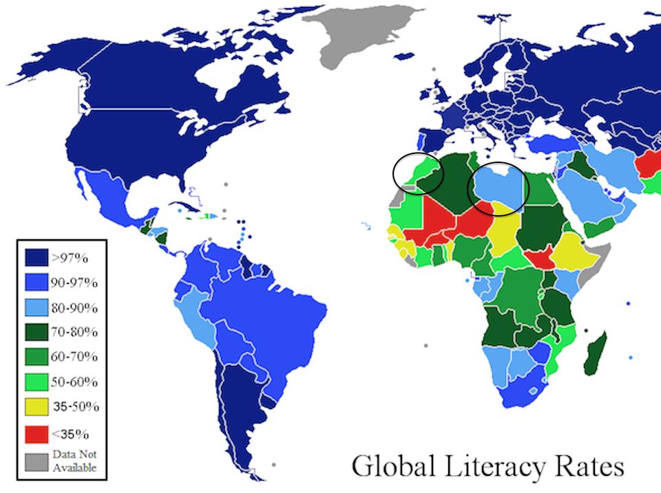 Media Access Libya And Morocco