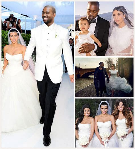 A Listers In Love. Starring Kim Kardashian And Kanye West