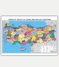 Türkiye Coğrafyası Haritaları Haritalar ünver Eğitim Araçlari