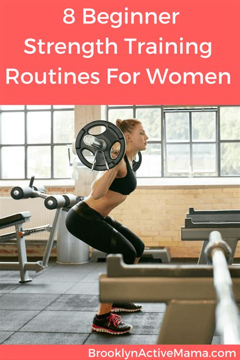 beginner full strength training plans  women
