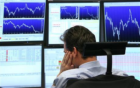 nervous trader