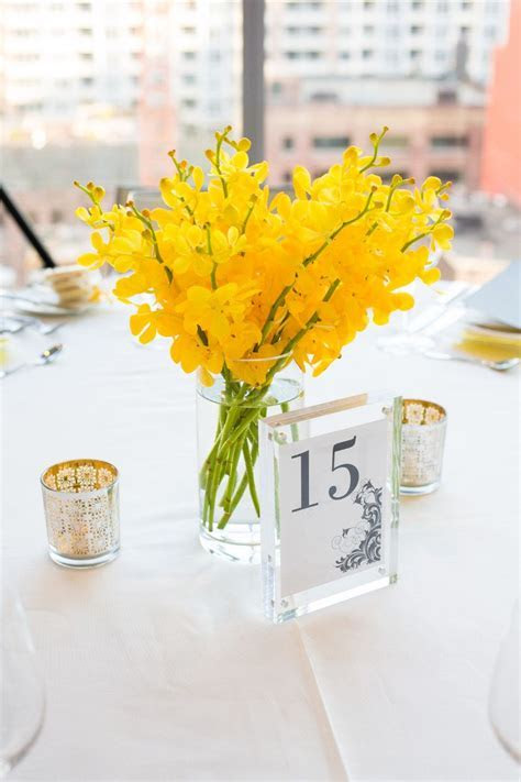 Gray and Yellow Canada Wedding   Yellow Wedding Ideas