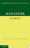 Download Menander: Samia (The Woman from Samos)