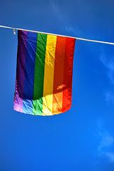 Cielo con arcoiris