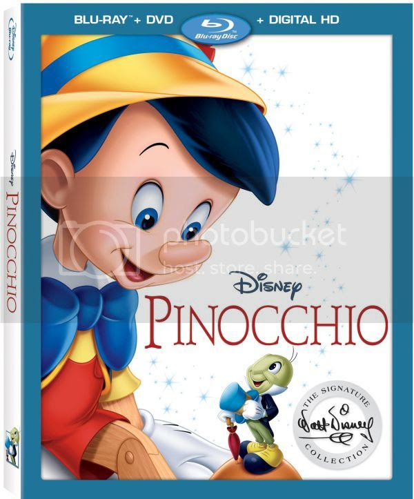 Pinocchio Signature Coll Bluray