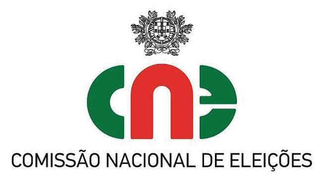 Logotipo  e ir para CNE - Comissão Nacional de Eleições