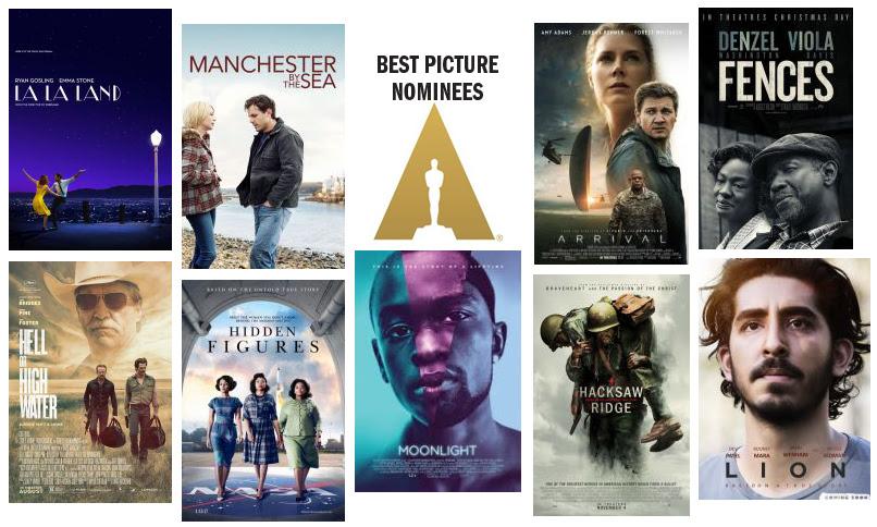 2017 Ballot of Oscar Nominations | Pittsburgh Post-Gazette