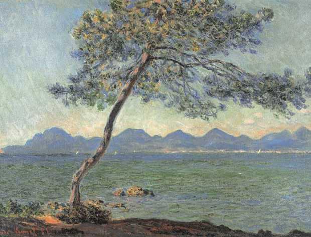 Claude Monet Au cap d'Antibes,