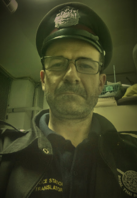 Con gorra en Lumphini