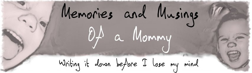 Memories and Musings of a Mommy